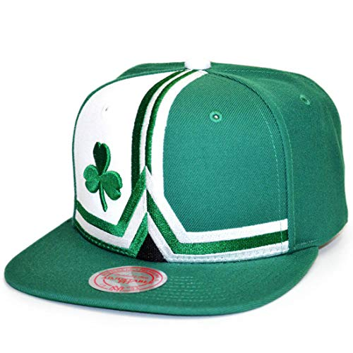 Preisvergleich Produktbild Mitchell & Ness Snapback Cap HWC Short Split Boston Celtics Green