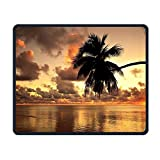 Smooth Mouse Pad Sunset Hawaii View Mobile Gaming Mouse Pad Work Mouse Pad Office Pad