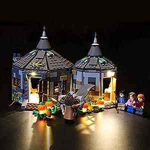 LIGHTAILING Set di Luci per (Harry Potter La Capanna di Hagrid: Il Salvataggio di Fierobecco) Modello da Costruire - Kit… 0716852281473 LEGO