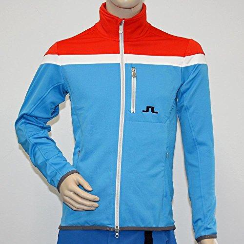 j-lindenberg-giacca-jersey-lifestyle-huxley-tech-per-uomo-dk-coral-3741-s
