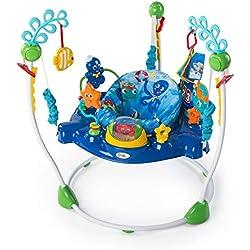 Baby Einstein, Aire d'Eveil à Rebonds Neptune's Ocean avec plus de 15 activités, musique et lumières, siège rotatif à 360 degrés!