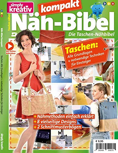 Näh-Bibel kompakt:: Die Taschen-Nähbibel