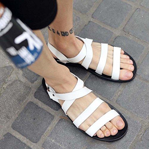 ZXCV Scarpe all'aperto I pattini della spiaggia degli uomini di personalità calzano i sandali casuali dei giovani i pattini di marea Bianca
