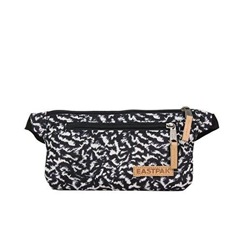 Eastpak Talky Bolso Bandolera, Diseño Curls, Color Negro