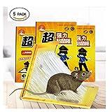 ShouYu Eine Gruppe von 5 Anti-Rat-Stick und Fahren Sie mit der Maus Pad Maus Anti-Ratte-Clip E602 Lösung der Großen kleben die Maus Artefakt zu Fangen zu Fangen