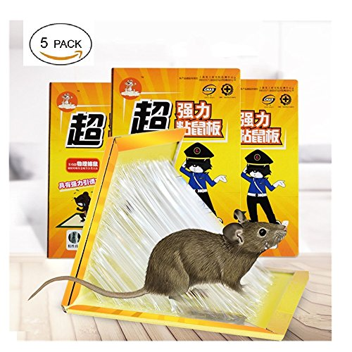Price comparison product image ShouYu A group of 5 anti-rat-stick and drive the Mouse Pad Mouse anti-rat-clip E602 solution to catch the Large glue stick to catch the mouse artifact
