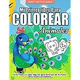 Mi Primer Libro Para Colorear Animales: 55 Páginas para Colorear de Animales - Libro para Colorear y Dibujar - Animales Libro