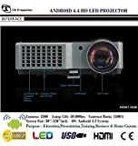 ANDROID WiFi HD LED PROJECTOR For Education,Business & Home Cinema,Lumens 2200,resolutions support 1920x1080p,Max screen size 150'inch diagonal