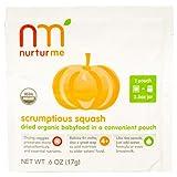 NurturMe, Nourritures sèches et organique pour bébé, jus pressé succulent, 8 sachets, 6 oz (17 g) chaque