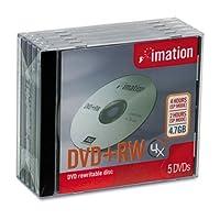 DVD+RW 4x 5pk Jewel Case