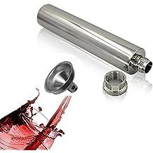 Samber Petacas de Licor Petacas de Whisky de Acero Inoxidable Mini Botellas para Vino Portátil 2