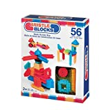 Au Sycomore Bristle block basic builder box 56 Stück