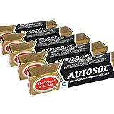 Autosol 5er Pack Metall Politur (75ml X5) Chrom...