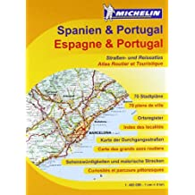 Spanien & Portugal Straßenatlas (Michelin Nationalkarte)