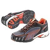 Puma Safety Shoes Fuse Motion Red Wns Low S1 HRO SRC, Puma 642870-805 Damen Espadrille Halbschuhe, Grau (grau/rot 805), EU 38