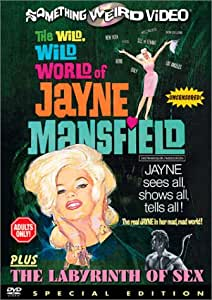 The Wild, Wild World of Jayne Mansfield / Labyrinth of Sex [DVD] [Region 1] [US Import] [NTSC] [1968]