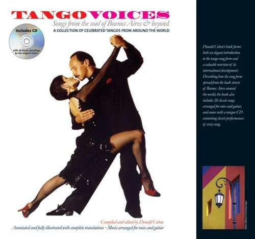 tango-voices-songs-from-the-soul-of-buenos-aires-and-beyond-hardback-partitions-cd-pour-voix-guitare