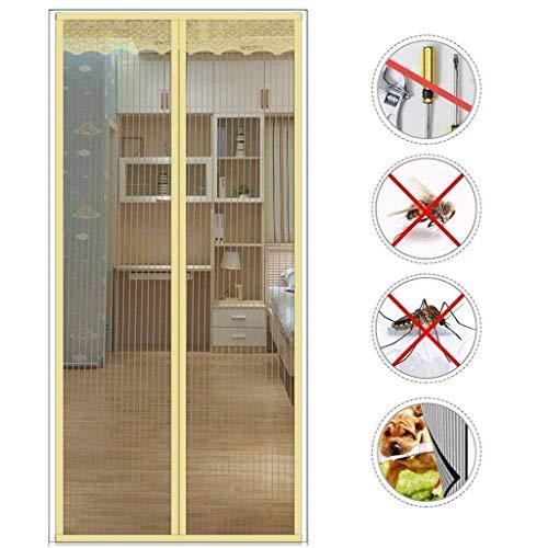 Wghz Feng Screen Doors, Magnetic Fly Insektenschutztür Automatisch geschlossen, faltbar Wohnzimmer, Terrassentür - 85X205cm