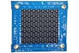 Thermodecke (Topper térmico-cubierta isotérmica-toldo für Pool) 500mic New Energy mit Verstärkung Rundum + Ösen in Edelstahl + Abdeckung Schutz für Topper Solar + Aufroller Teleskop. 5 x 4m.