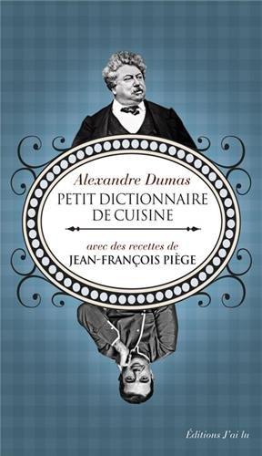 Petit dictionnaire de cuisine