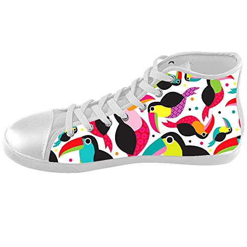 Dalliy Toucan Bird Cartoon Kids Canvas shoes Schuhe Footwear Sneakers shoes Schuhe B