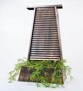wasserwand zimmerbrunnen modern angenehmes raumklima. Black Bedroom Furniture Sets. Home Design Ideas