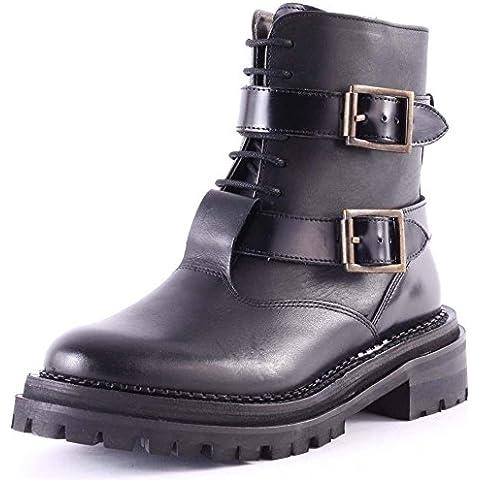 H by Hudson Kerb Boots–Black Negro negro Talla:UK 04