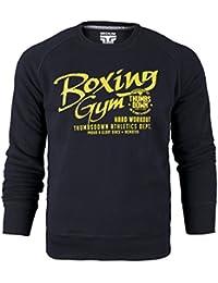 Boxing Gym Sweatshirt. Thumbsdown Athletics Dept. Crewneck. Hard Workout. Proud & Glory. Martial Arts. MMA Hoodie