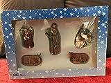 OLIVER Figuras de belén, Familia, Buey, Burro, ángel, Altura 12 cm para Figuras de tamaño 12 - 15 cm