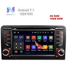 """freeauto sistema operativo Android de 7""""7.1Quad Core coche reproductor de DVD con pantalla Mirroring función & OBD2para Audi A3/S3"""