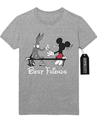 T-Shirt Mickey Mouse & Bugs Bunny