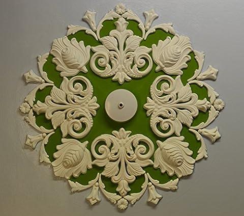 Plaster Ceiling Rose/ Medallion, Victorian