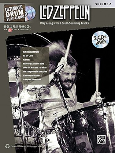 Ultimate Drum Play-Along Led Zeppelin, Vol 2: Authentic Drum, Book & 2 CDs (Ultimate Play-Along)