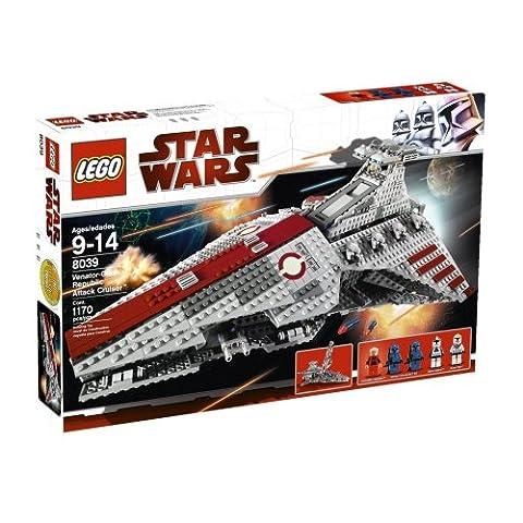 LEGO Star Wars 8039 - Republikanischer Angriffskreuzer Venator