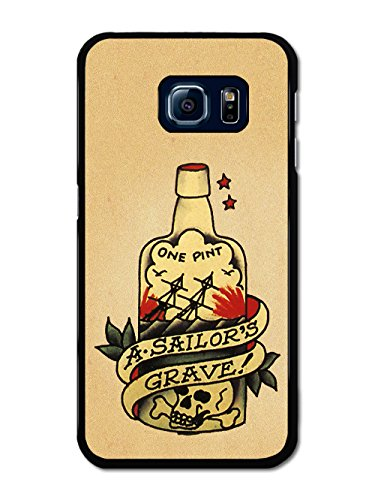 old-tattoo-vintage-one-pint-a-sailors-grave-bottle-illustration-coque-pour-samsung-galaxy-s6-edge
