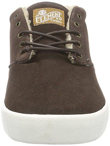 Element Preston, Sneakers Hautes homme Marron (3829)