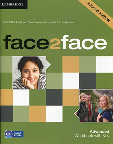 face2face Advanced Workbook with Key Second Edition por Tims