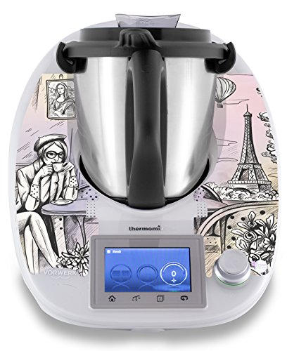 "Thermomix Aufkleber Sticker Stickerdream ""Mona Lisa smile\"" - Made in Germany (TM5)"