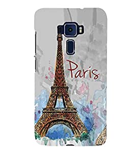 For Asus Zenfone 3 Deluxe ZS570KL beautiful tower ( beautiful tower, tower, vintage tower ) Printed Designer Back Case Cover By FashionCops
