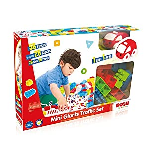Dolu - Mini Giants with Blocks, Set educacional, 56 Piezas (6265055)