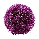 CanVivi Buchskugel Künstliche Klein Blumenball Durchmesser 15/17/22cm Lila