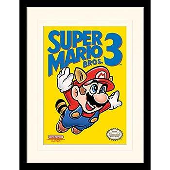 "ONLY  £7.99 Design A CANVAS PICTURE 10/"" x 10/"" SUPER MARIO BROS"