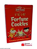 Silk Road Fortune Cookies - 12 Individually Wrapped Cookies