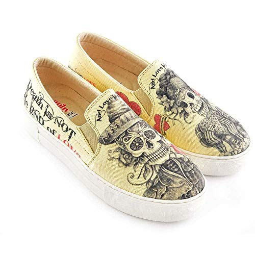 Love is Immortal Slip on Sneakers Shoes VNY101 -