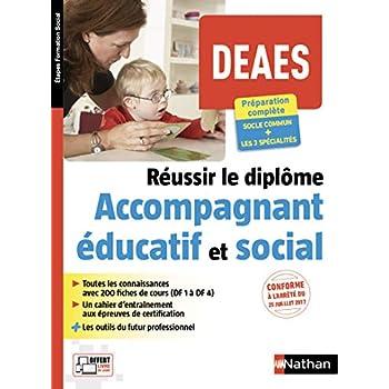 Réussir le diplôme d'accompagnant éducatif et social - DEAES - 2018