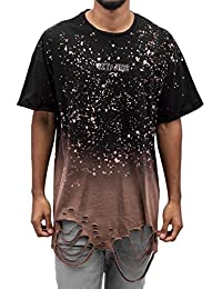 Sixth June Homme Hauts / T-Shirt Oversized Bleached Washed