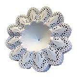 Biedermeier Manschetten Weiß 25 Stück Größe 3,5 Papiermanschetten Blumenmanschetten Straußmanschetten