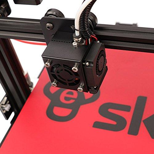 HE3D vormontierter SKY 3D Drucker mit Titantextruder AC Wärme Bett voll Aluminium große Baugröße 300 * 300 * 400mm Doppelköpfe als Geschenk - 7