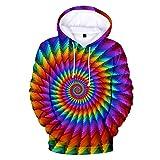 Halloween Sweatshirts Herren,SANFASHION Hooded Männer Kapuzenpullover Frauen Modus 3D African Print Langarm Paare Outwear Hoodies Top Bluse Shirts