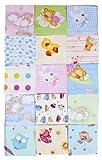 Stoffwindeln für Mädchen 7er Pack Mullwindeln, Schmusetücher bedruckt Spucktücher Neu Neue Design thumbnail